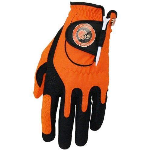 Zero Friction NFL Cleveland Browns Orange Golf Glove, Left ()