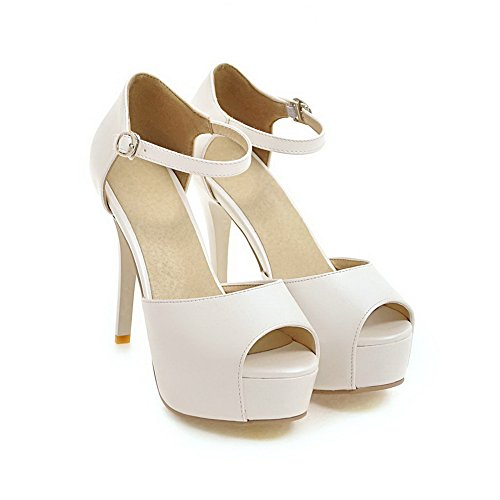 Femme Bout Inconnu 1TO9 Blanc Ouvert YqXn1xf