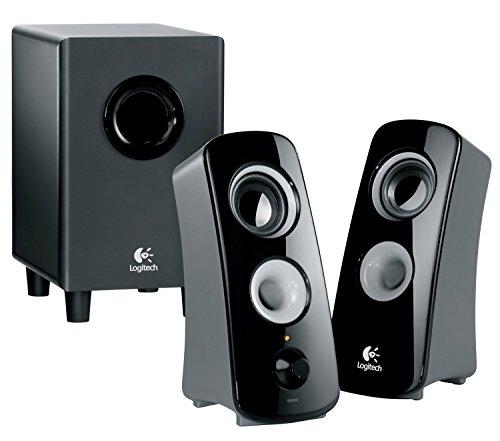 Logitech Speaker System Z323 with Subwoofer (Certified Refurbished)