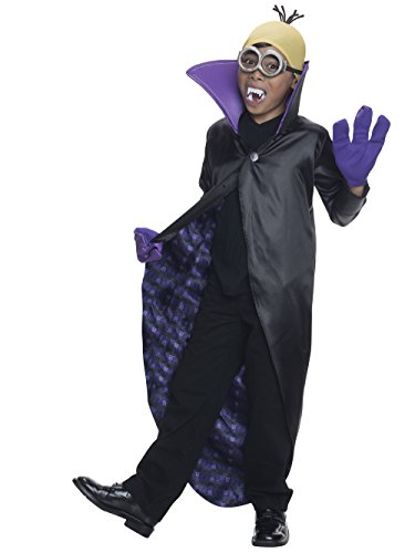 Female Dracula Costumes (Rubie's Costume Minions Dracula Child Costume, Small)