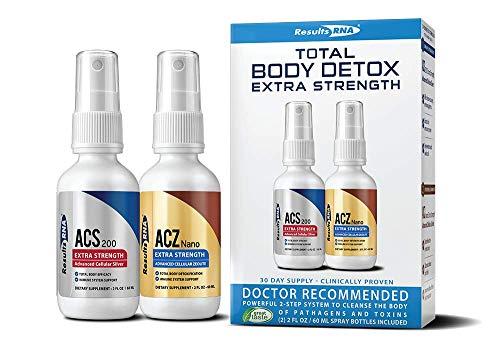 Results RNA Total Body Detox | Extra Strength Natural Detoxification for Optimal Health - 2 oz ()