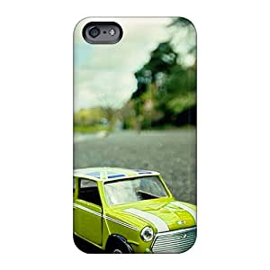 TrevorBahri Apple Iphone 6s Plus Excellent Cell-phone Hard Covers Unique Design Attractive Yellow Green Mini Cooper Toy Series [hfH2621WQRR]