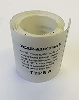 Tear Aid Fishing//Hunting Repair Patch Kit Type A /& B x 4 6 x 3 Bags//Tarp//Canvas