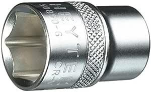Heytec 50850601283 Hexagon Socket, Silver, 1/2-12 mm