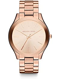 Womens Mini Slim Runway Rose Gold-Tone Watch MK3513