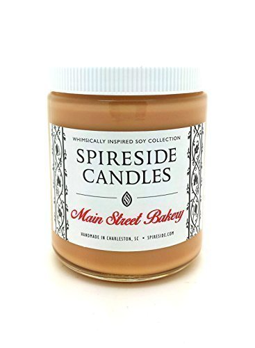 "Main Street Bakery â""¢ - Spireside Candles, Disney Candles, Scented Soy Candle, 8 oz Jar"