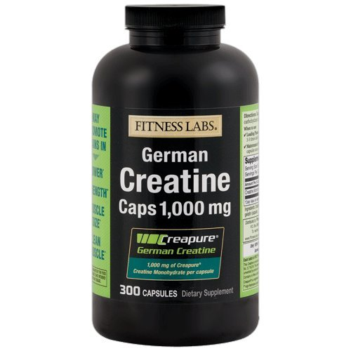 Fitness Labs Creapure German Creatine 1000 Mg, 300 Capsules