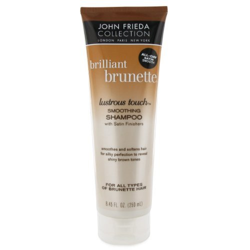 John Frieda Brilliant Brunette Lustrous Touch Smoothing Shampoo 8.45 fl oz (250 ml)