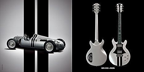 LAG ROXANE RACING BEDARIEUX 1500 METALLIC GREY: Amazon.es: Instrumentos musicales