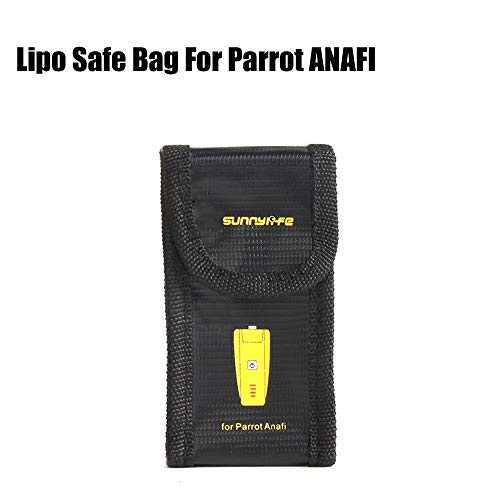Explosion-Proof Storage Bag LiPo Bag Battery Safety Case for Parrot Anafi Drone
