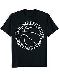 Basketball Hustle Beats Talent elite player team sport shirt