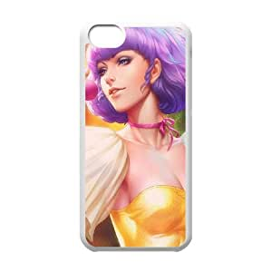 iPhone 5c Cell Phone Case White ah31 creamymami illust artgerm FY1386588