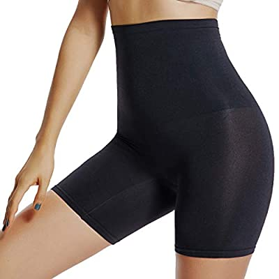 Slip Shorts for Under Dresses Women Shapewear Panties High Waist Tummy Control Thigh Slimmer