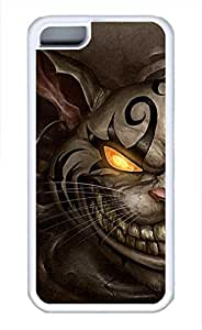 iPhone 5c case, Cute Angry Cat iPhone 5c Cover, iPhone 5c Cases, Soft Whtie iPhone 5c Covers