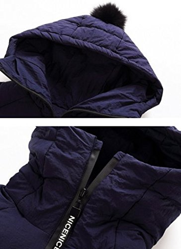 Jungen Mit Winterjacke Mantel Mädchen Ohmais Down Verdickte Unisex Kapuzen Outerwear Trenchcoat Winter Marine Jacket