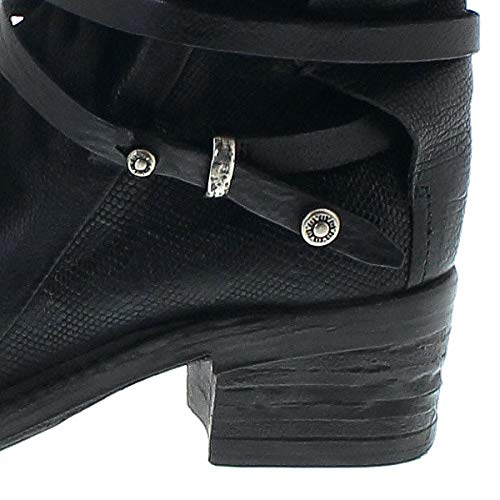 A.S.98 Damen Stiefel 261216 schwarz Lederstiefelette Lederstiefelette Lederstiefelette Airsteps 080298