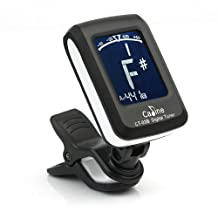 LCD Clip-on Guitar Tuner For Musical Electronic Digital Bass Violin Ukulele