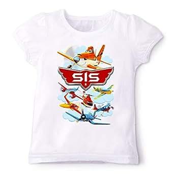 Disney Planes Sis Family Matching Birthday T-Shirt 5 Years