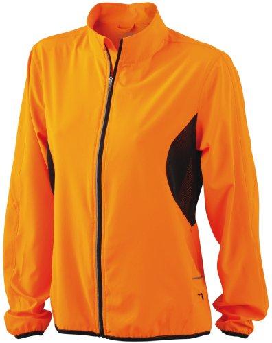 JN443 JN443 JN443 Fluo leggera amp;N Orange Schwarz femminile giacca J wSPRIvn1qx