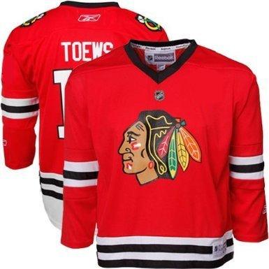 Jonathan Toews Chicago Blackhawks Red NHL Toddler Replica Je