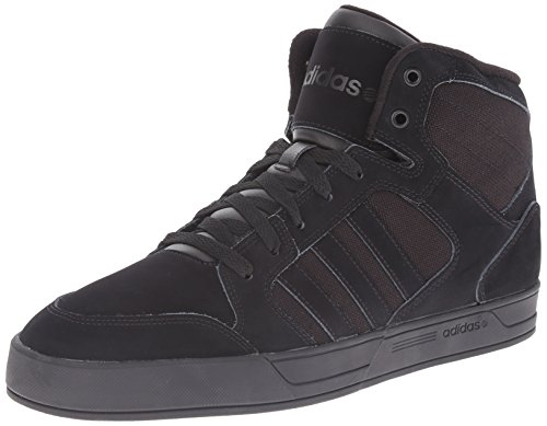 adidas NEO Men's Raleigh Mid Lace Up Shoe,Black/Black/Black,9 M US