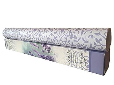 8 SHEETS Scented Drawer & Shelf Liners - Lavender Fragranced Drawer
