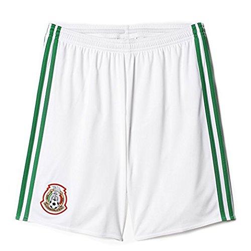 adidas Mens 2016 Mexico Home Shorts Medium by adidas