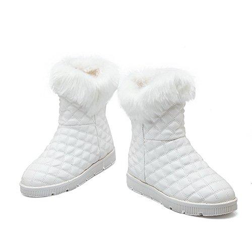1TO9 Botas de nieve mujer blanco