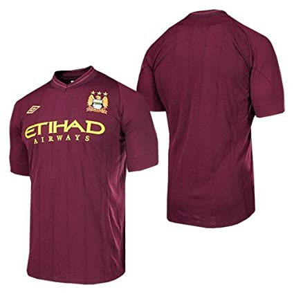 7daabbdc4 Amazon.com : 2012-13 Man City Away Umbro Football Shirt (Kids ...