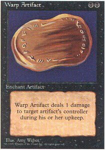 Artifact 4th Edition - Magic: the Gathering - Warp Artifact - Fourth Edition