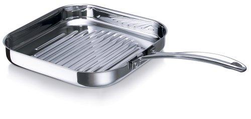 Bekaline 12068294 Chef Grillette en acier inoxydable 26, 5 x 26, 5 cm 12068294_-26 5x26 5cm