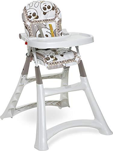 Cadeira de Refeição Alta Premium, Galzerano, Panda, Até 15 kg