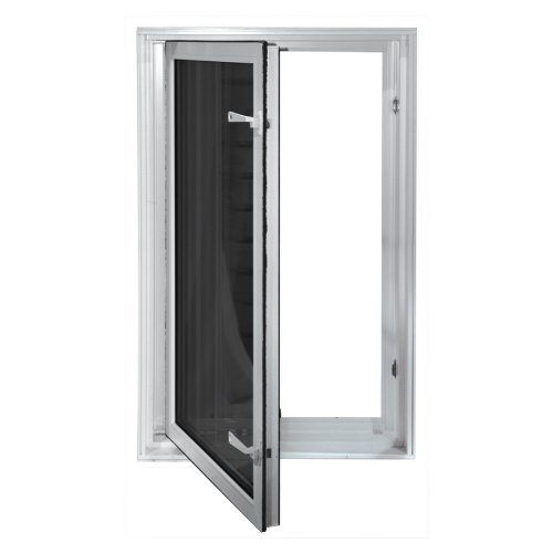 Wellcraft 27-1/2''W x 45-1/2''H Vinyl Dual-Pane Low E New Construction Window WISE2745 by Wellcraft