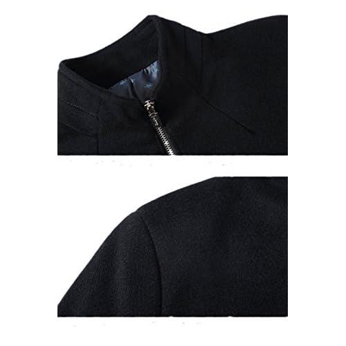 2018 New Wool Fabric Coat Men  S Short Business Casual Woolen Jacket