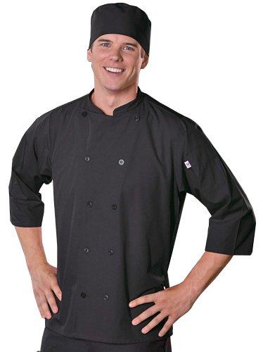 chef black jacket 3 4 - 4