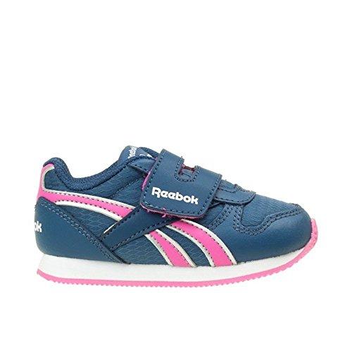 Reebok - Royal CL Jogger - Color: Blu marino-Rosa - Size: 26.5