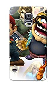Case Cover Metroid Video Games Link Mario The Legend Of Zelda Wario Super Smash Bros / Fashionable Case For Galaxy S5