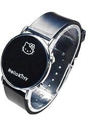 Lovely Fashion Hello Kitty watches Girls Ladies Wrist Watch WKT@DGW002B