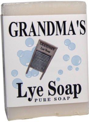 Remwood Grandma's Pure & Natural Lye Soap Bars for Dry Sk...