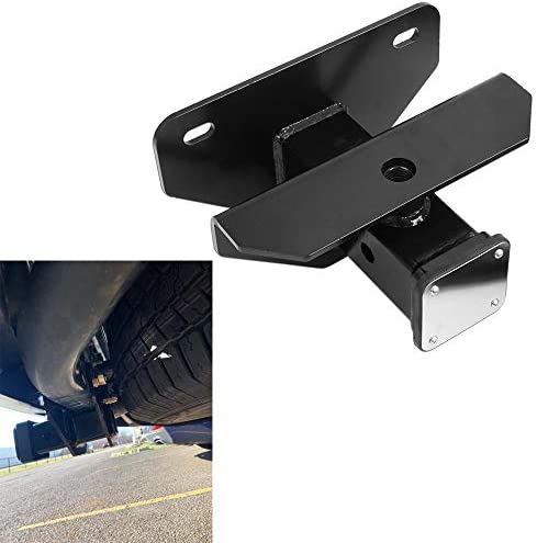 Sulythw Class 3 Hitch /& Cover Kit Fits 2003-2018 Dodge Ram 1500 /& 2003-2013 Ram 2500//3500 Factory Style 2 inch Rear Receiver Hitch Tow Towing Trailer Hitch Combo Kit