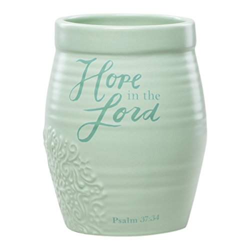 Dayspring Hope in The Lord - Stoneware Vase/Crock