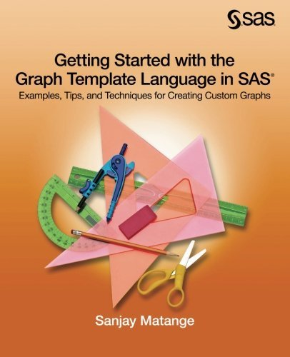 Getting Started with the Graph Template Language in SAS: Examples, Tips, and Techniques for Creating Custom Graphs by SAS Institute
