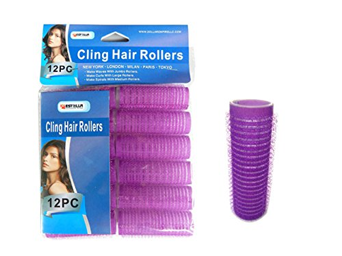 HAIR ROLLER CLING 12PC/SET 20M, Case of 96