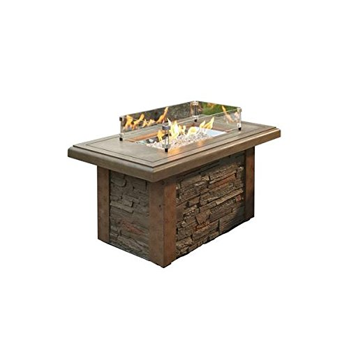 Outdoor GreatRoom Company SL1224M Sierra Fire Pit Table
