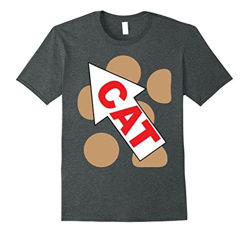 Cat Couples Costume Dog (Mens Cat Dog Group Family Matching Halloween Costume TShirts XL Dark)