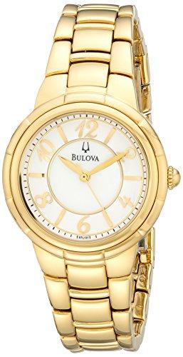 Bulova Women's 97L131 Analog Display Analog Quartz Gold Watch
