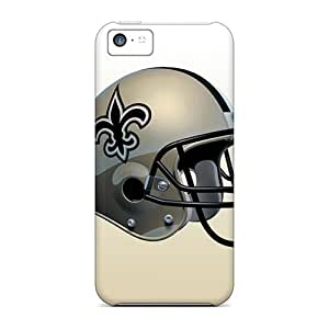 TDY2584oabD Snap On Case Cover Skin For Iphone 5c(new Orleans Saints)