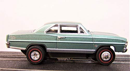Auto World Green 1966 Chevy Nova SS Ho Scale Slot car