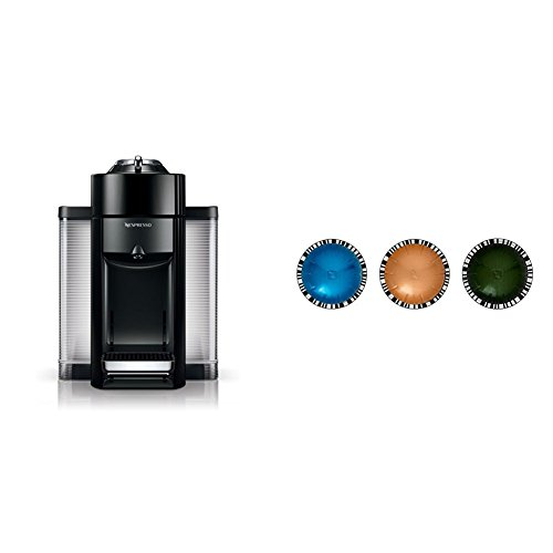 Nespresso Evoluo by De'Longhi, Black and Vertuoline Best Seller Pods, 30 ct Only $99 (Was $171.82) #PrimeDay