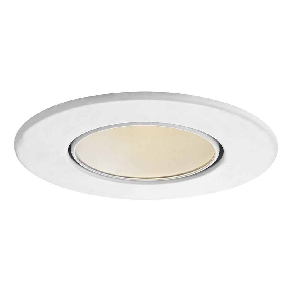 GU10 Satin Adjustable Reflector Trim for 3.5-Inch Recessed Cans
